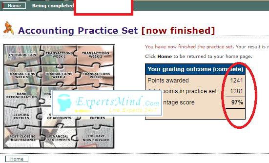 1281 PERDISCO Practice sets Help online