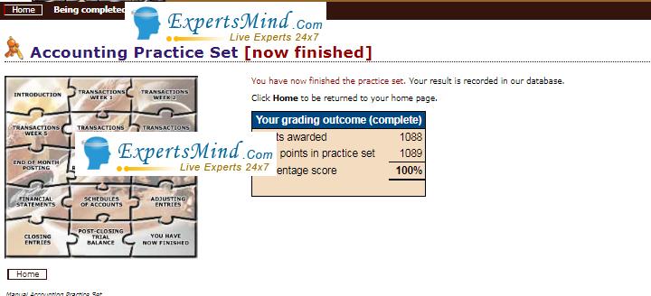 1089 marks PERDISCO practice sets help